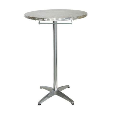 tavolo alto da bar tavolo alto pieghevole da bar mirano in alluminio ed inox