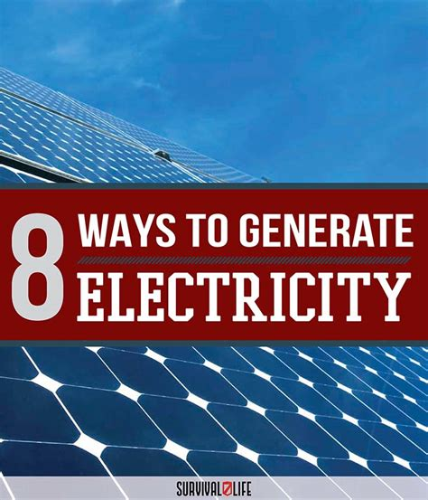 how to generate electricity at home for 28 images