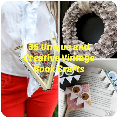 diy craft book 35 unique diy project ideas to repurpose books