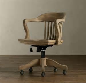 organisation chaise de bureau vintage