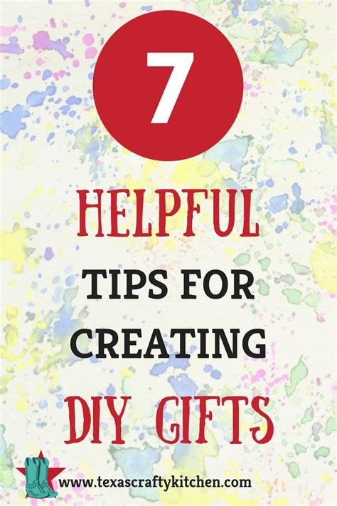 7 Helpful Tips For Creating Diy Gifts Crafty Kitchen