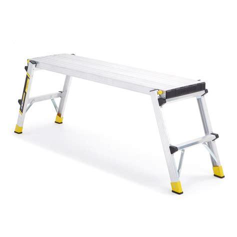 Home Decor Credit Cards gorilla ladders aluminum slim fold work platform with 250