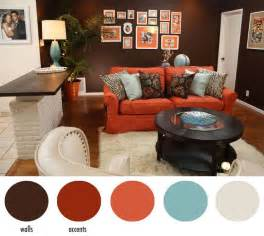 Burnt Orange Home Decor by Hotel Chic Design Diys Seen On Home Made Simple Accent