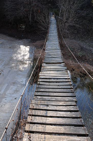 swinging bridge arkansas swinging bridge at zinc encyclopedia of arkansas