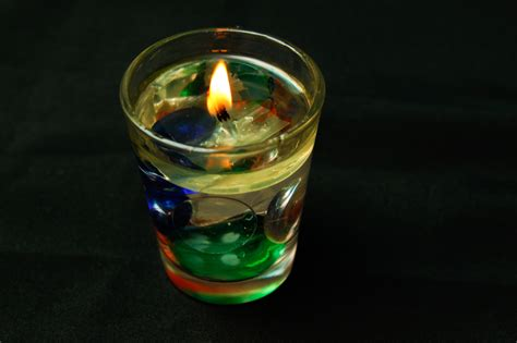 How To Decorate Candles At Home How To Make Water Candles 7 Steps With Pictures