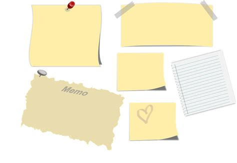 Sticky Notes Reminder Post It Memo Catatan Tempel Karakter Sno002 memo sticky note post it 183 free vector graphic on pixabay