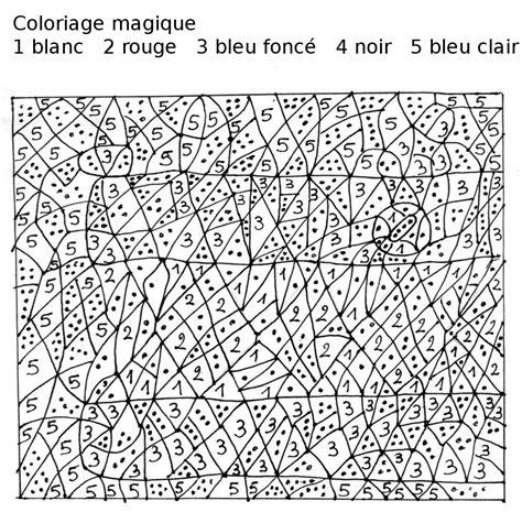 Coloriage Magique Les Beaux Dessins De Autres 224 Imprimer Coloriage Magique Le Loup Est Revenul L