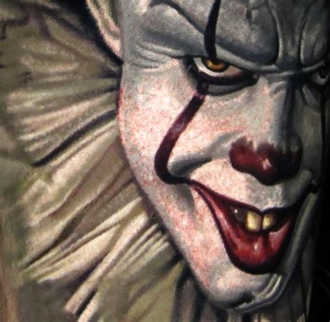 tattoo nightmares shop los angeles nikko hurtado s pennywise it tattoo will give you nightmares