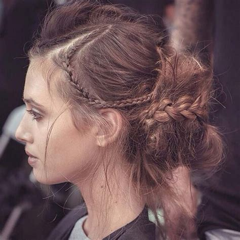 Show Pix Of Braid | 2015 braided hairstyles from fashion shows hairstyles