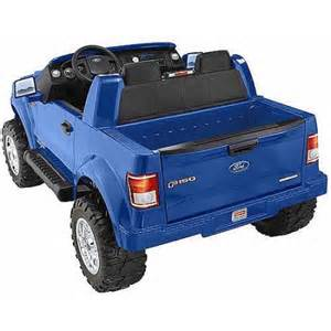 Power Wheels Truck At Walmart Fisher Price Power Wheels Ford F 150 12 Volt Battery