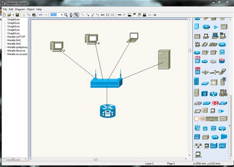 free home network design tool diagram designer free
