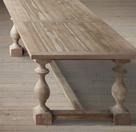 restoration hardware monastery dining table my hunt for the kitchen table driven by decor