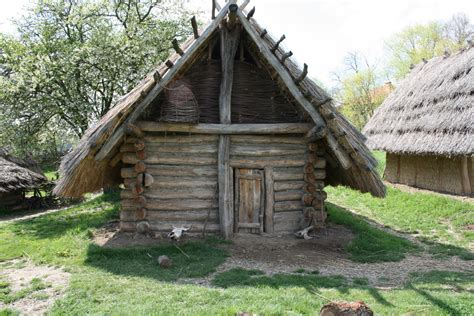 european culture log cabin