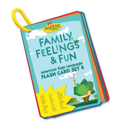 flash cards flash card set family feelings and outlet