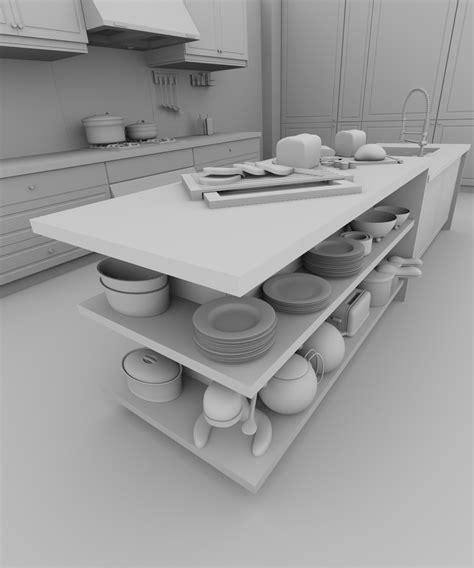 modelisation cuisine blender 4d mod 233 lisation d une cuisine dans blender 2 5