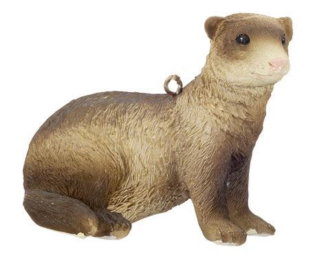 ferret personalized ornament