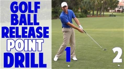 golf swing speed training drills 1 2 golf swing release point drill golf ball in front