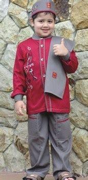 Baju Koko Gaul Merah 10 contoh baju muslim anak keren model terbaru 2018