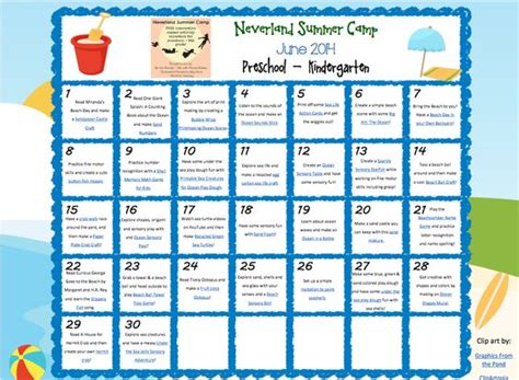 theme rec list summer c activities ideas for preschoolers 50 summer