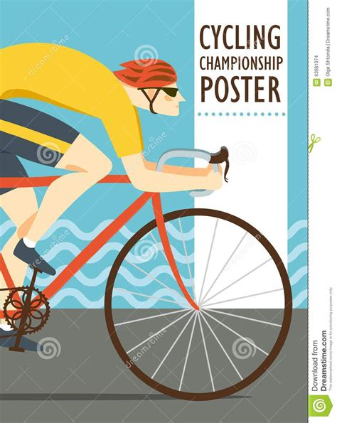 Cyling Vintage Humour Poster Free Stock Photo Public Domain Pictures Racing Cyclist Vitage Poster Stock Illustration Image