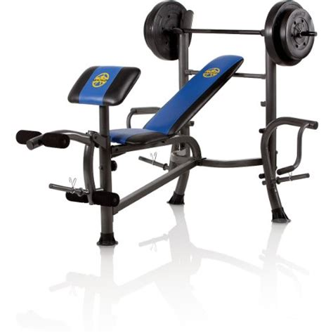 marcy diamond weight bench with 80 lb weight set fitstrenght shop for strength training equipment