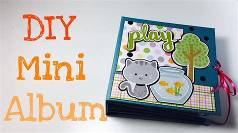scrapbooking tutorial deutsch diy scrapbook mini album tutorial deutsch youtube