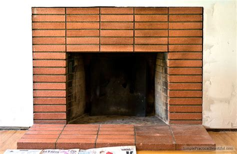 how to clean brick fireplace fireplaces