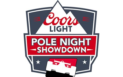 coors light pole qualifying millercoors to sponsor indycar coors light pole night
