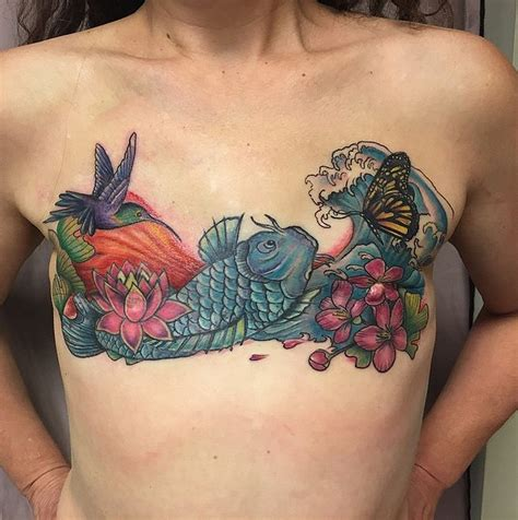 nipple tattoo surgery 15 mastectomy tattoos that celebrate scars in a beautiful