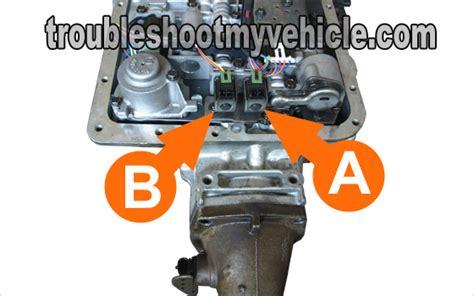 1999 gmc suburban transmission problems part 1 shift solenoid a and b tests gm 4 3l 5 0l 5 7l