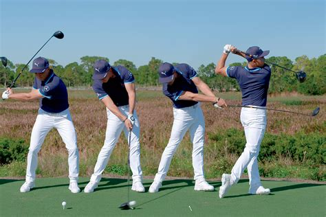 golf swing sequence swing sequence rickie fowler australian golf digest
