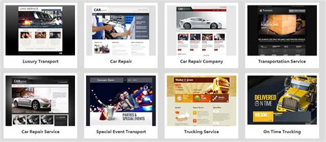 godaddy website builder templates for a stunning website