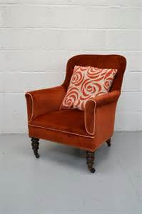 upholstered small armchair bedroom reading chair