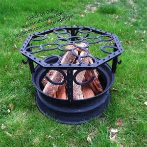 Truck Wheel As Pit Shoe Truck Wheel Pit Grill Cing