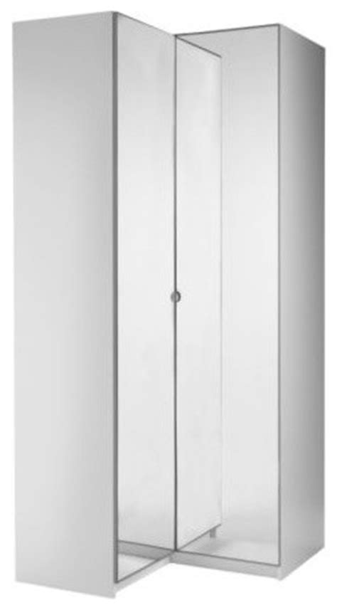 Corner Armoire Wardrobe by Pax Corner Wardrobe Scandinavian Armoires And