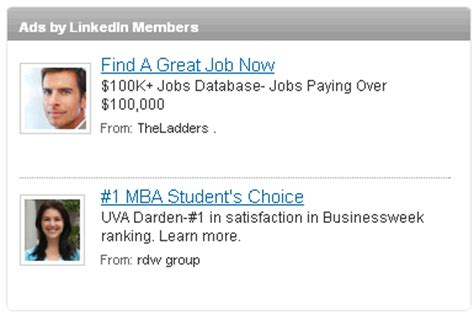 Should You Advertise On Facebook Linkedin Or Twitter Social Media Examiner Linkedin Ad Template