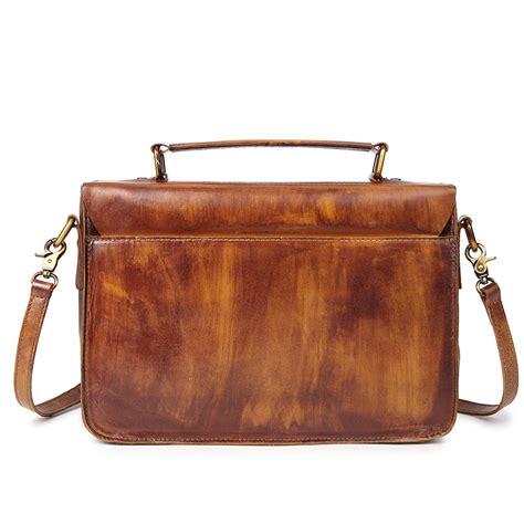 Postman Messenger Leather Bag vintage womens genuine leather bag handbag messenger bag
