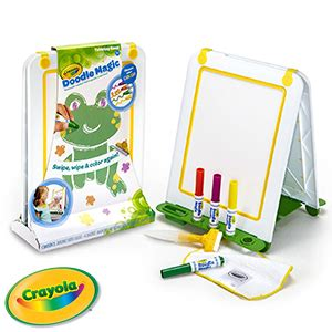 how to use doodle magic markers buy crayola doodle magic tabletop easel at home bargains