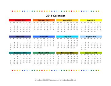 free colorful printable planner 2015 printable 2015 calendars