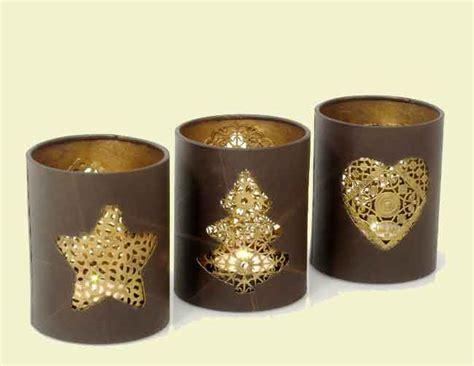 silberne kerzenhalter für stumpenkerzen weihnachtsdeko gold braun execid