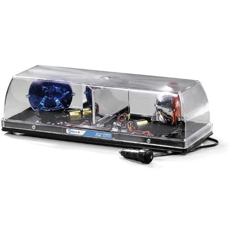 galls halogen responder ii mini lightbar