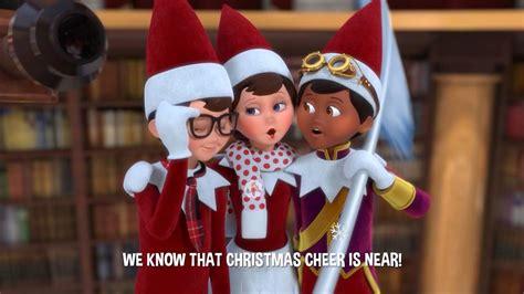 sing  version christmas cheer    santas st bernards save christmas youtube