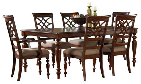 Standard Furniture Dining Room Sets by Standard Furniture Woodmont 7 Leg Dining Room Set