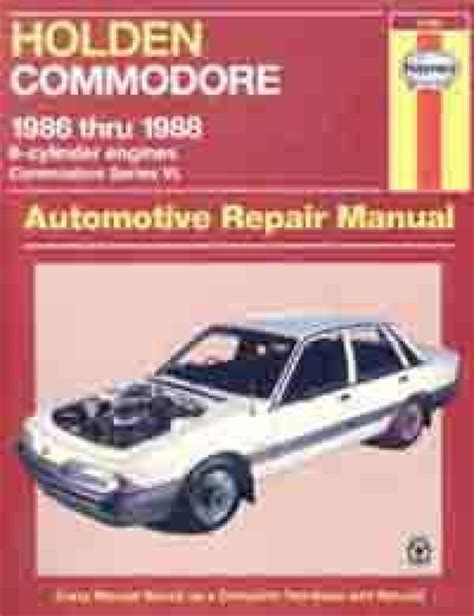 what is the best auto repair manual 1986 ford f series seat position control holden commodore vl 6 cyl 1986 1988 haynes service repair manual sagin workshop car manuals