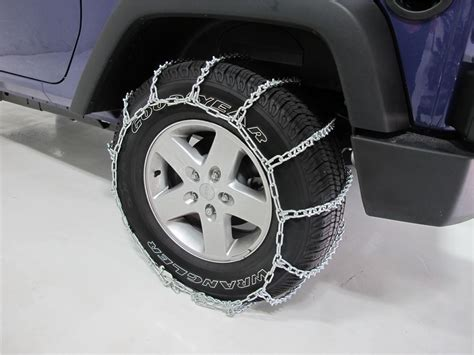 jeep wrangler snow tires 1992 jeep wrangler titan chain snow tire chains ladder