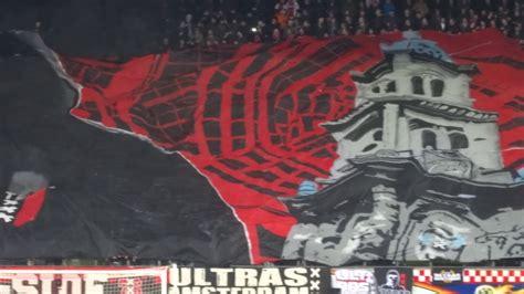 Ultras Aufkleber Instagram by Tifo F Side Ultras Amsterdam Ajax Panathinaikos 24 11