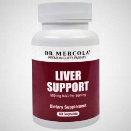 Dr Mercola Liver Detox by N Acetyl Cysteine Liver Support Dr Mercola Capsules