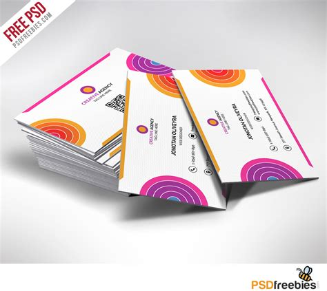 custom cards psd templates free 20 free business card templates psd psd