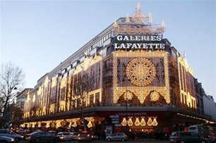 les galeries lafayette must see places