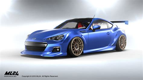 subaru brz body kit bulletproof automotive concept 1 fr s nasioc